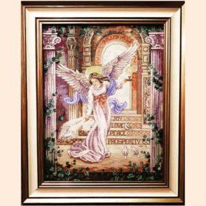 Вышивка крестом «Ангел»